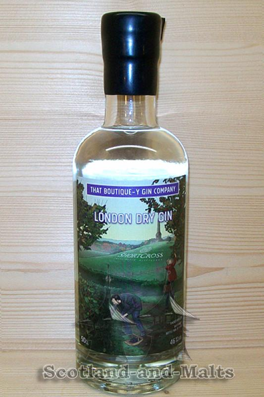 Shortcross London Dry Gin Batch 1 mit 46,0% - That Boutique-y Gin Company