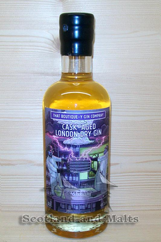 Cotswolds Cask Aged London Dry Gin Batch 1 mit 46,0% - That Boutique-y Gin Company