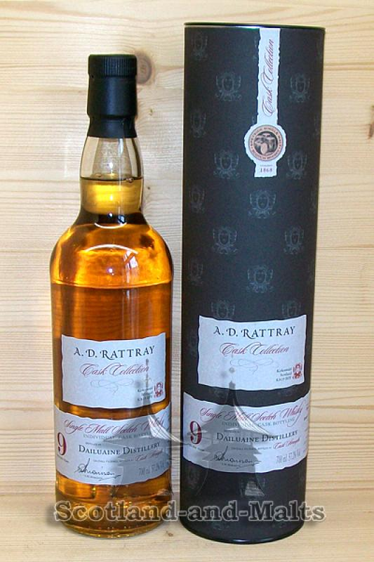 Dailuaine 2007 - 9 Jahre Sherry Butt No. 151 mit 57,2% - A.D.Rattray / Sample ab