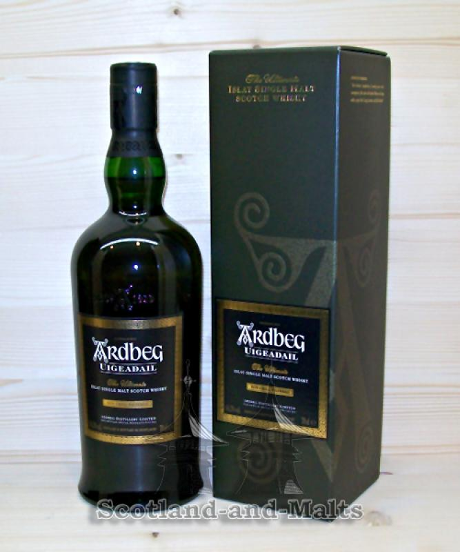 Ardbeg Uigeadail - single Malt scotch Whisky