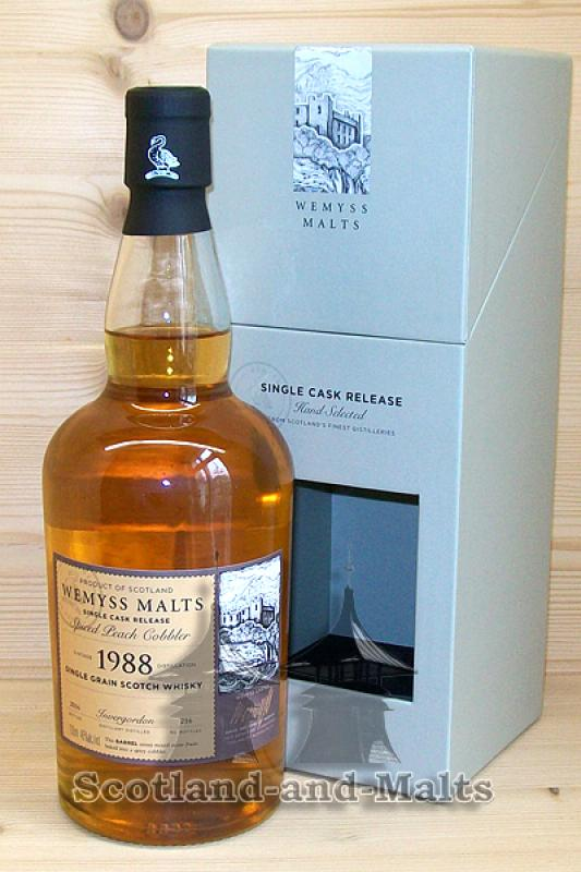 Invergordon 1988 / 2016 - Spiced Peach Cobbler - Wemyss Malts