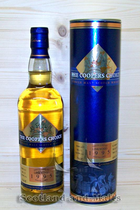 Linkwood 1995 - 13 Jahre (The Coopers Choice)