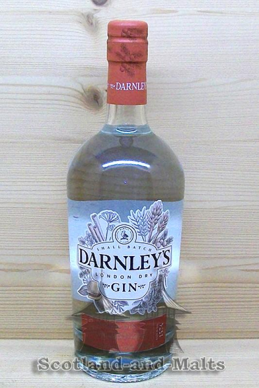 Darnleys Spiced Gin - small Batch London Dry Gin mit 42,7%