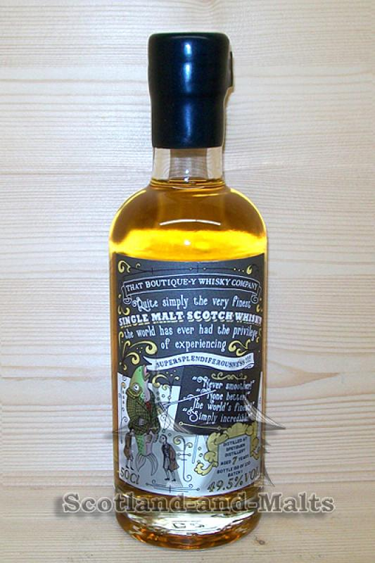 Speyburn 7 Jahre - Batch 1 mit 49,5% That Boutique-y Whisky Company / Sample ab