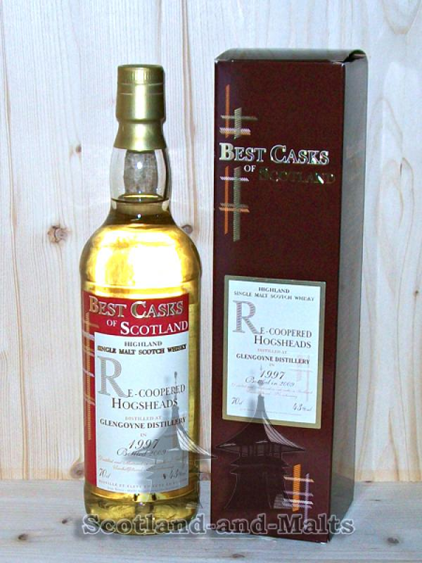 Glengoyne 1997 - 12 Jahre - Re-Coopered Hogsheads - Jean Boyer