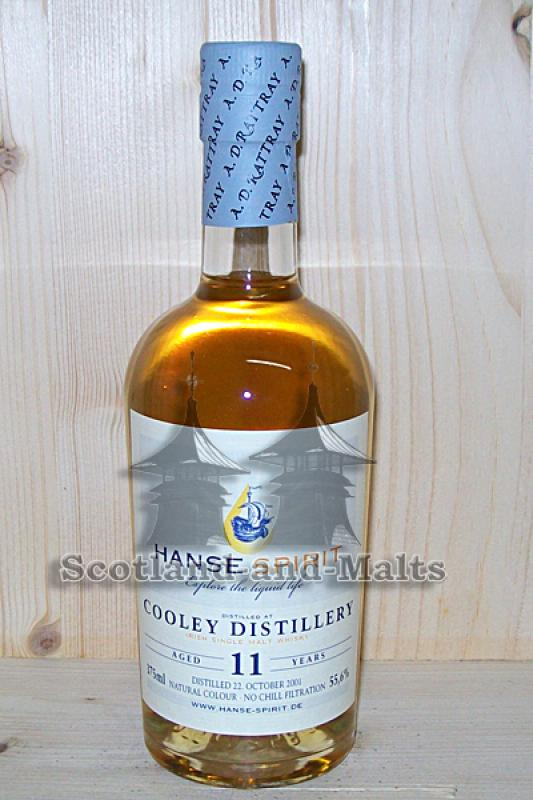 Cooley Distillery Irish single Malt - 11 Jahre Bourbon Cask