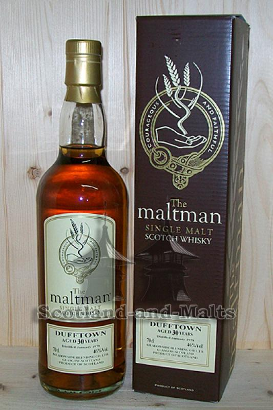 Dufftown 1978 - 30 Jahre Sherry Cask 46,0% - The Maltman