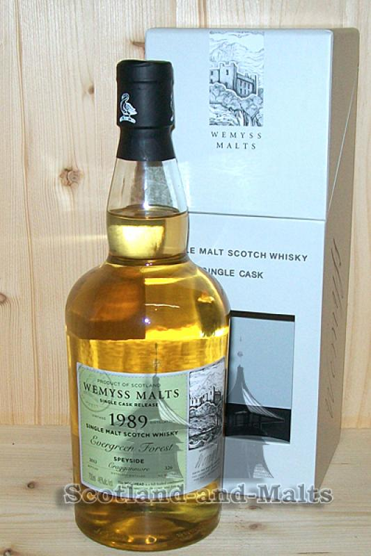 Cragganmore 1989 / 2013 - Evergreen Forest - Wemyss Malts