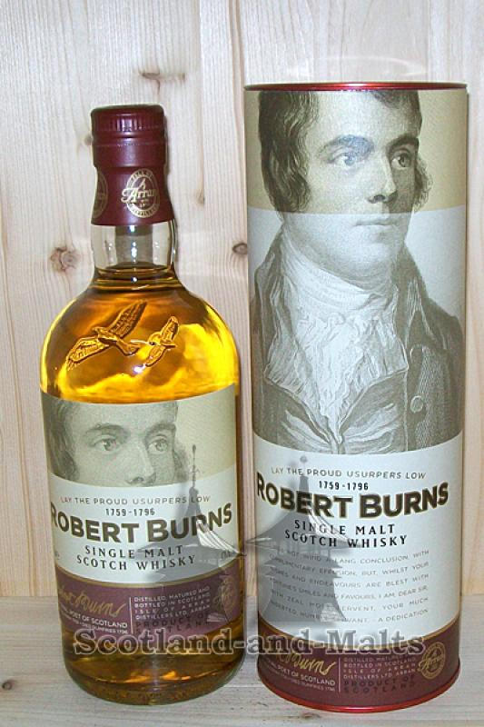 "Arran single Malt - Edition ""Robert Burns"""
