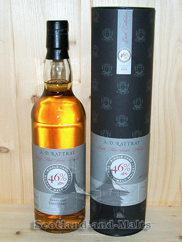 Benriach 1991 - 19 Jahre Bourbon Barrel No. 110682 mit 46,0% - A. D. Rattray