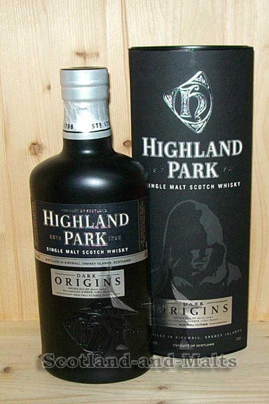 Highland Park Dark Origins - single Malt scotch Whisky