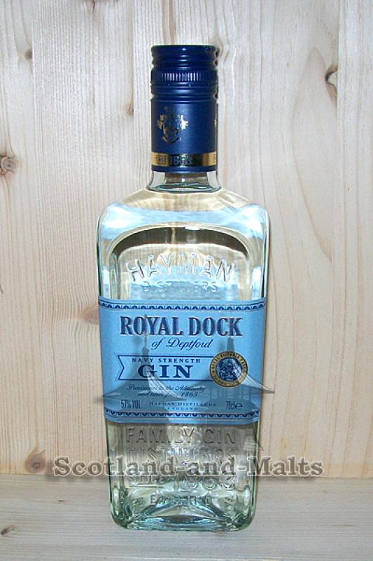 Royal Dog of Deptford - Navy Strength Gin 57,0% - Hayman Gin England