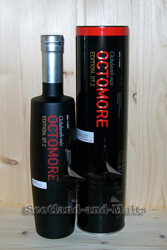 Octomore Edition 07.2 - 208 PPM - 58,5% vol