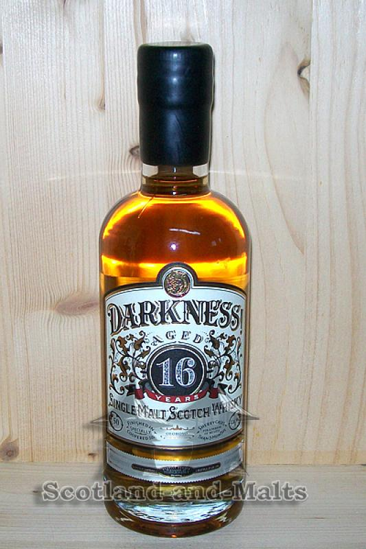 Tobermory 16 Jahre Heavily Peated mit 54,9% - Darkness Limited Edition (Ledaig)