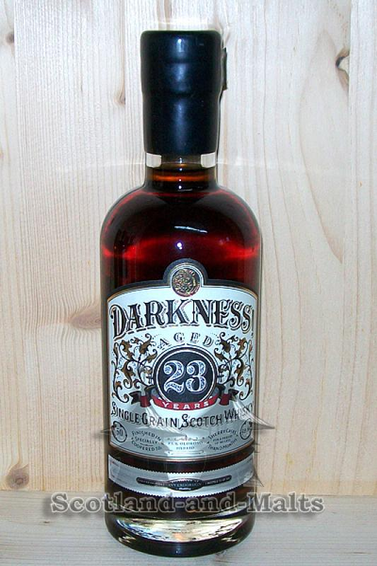 Invergordon 23 Jahre - 3 Monate Oloroso Sherry Cask mit 50,8% - Darkness Limited Edition