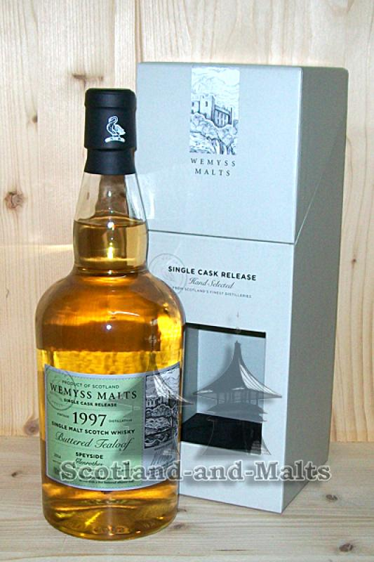 Glenrothes 1997 / 2014 - Buttered Tealoaf - Wemyss Malts