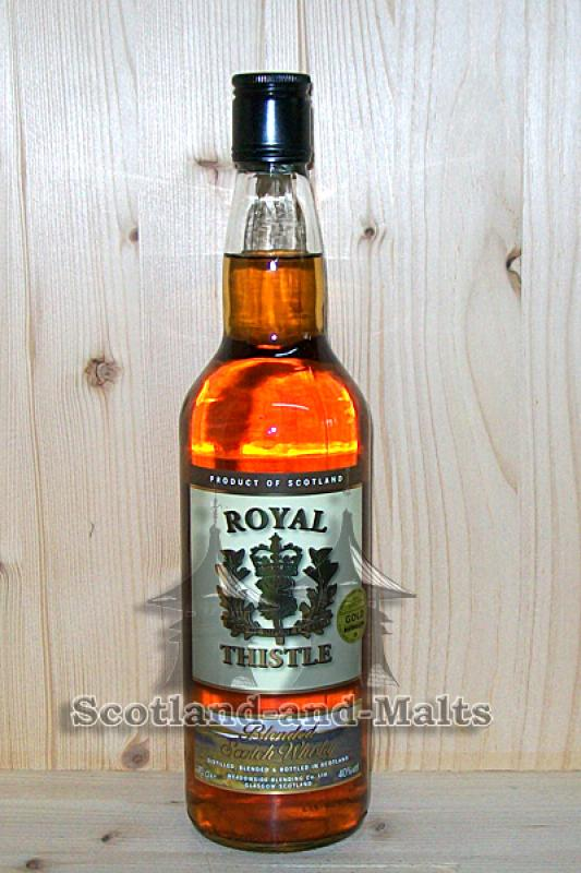 Royal Thistle Blended Scotch Whisky - Maltman