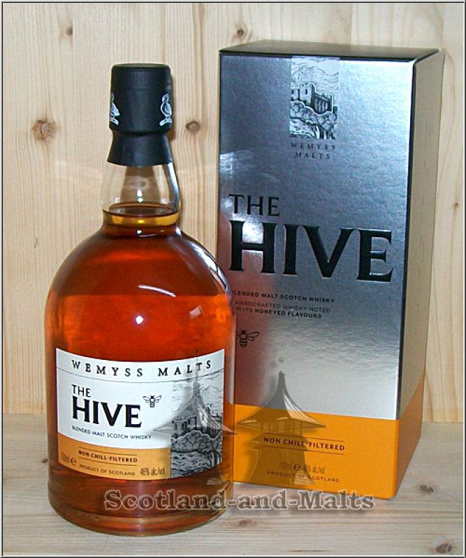 Wemyss Malts - The HIVE 46% - Handcrafted Scotch Malt Whisky