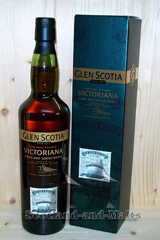 Glen Scotia Victoriana- Campbeltown single Malt Whisky
