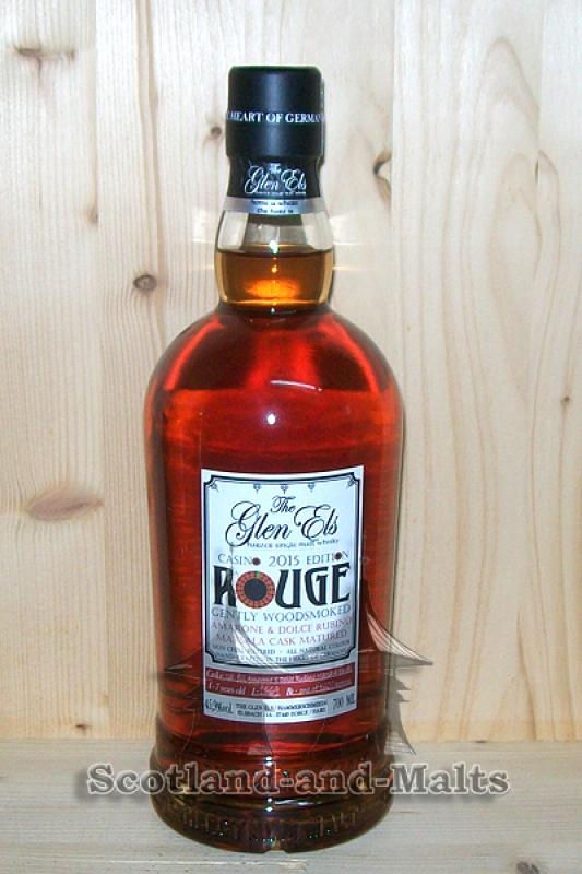 ROUGE Casino Edition 2015 - 4 bis 7 Jahre Amarone und Marsala Casks - Glen Els Gently Woodsmoked
