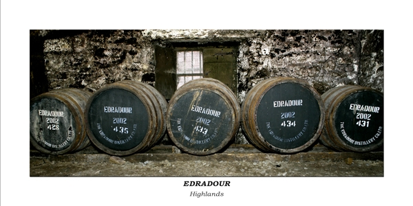 Edradour Warehouse - Whiskyfässer No.001