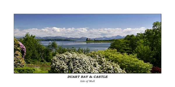 Duart Bay & Castle No.001