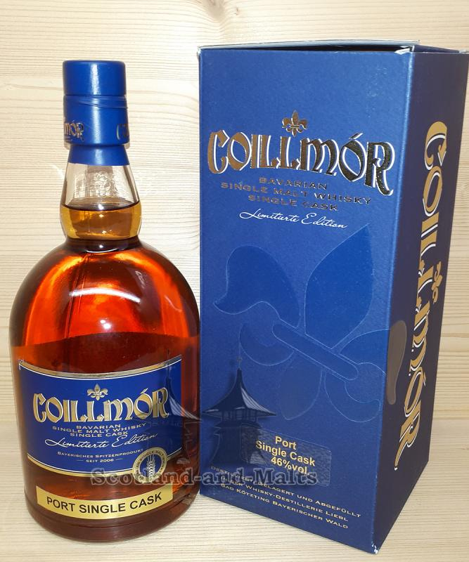 Coillmor 2008 - 6 Jahre single Port Cask No. 322 mit 46,0% - Whisky Destillerie Liebel
