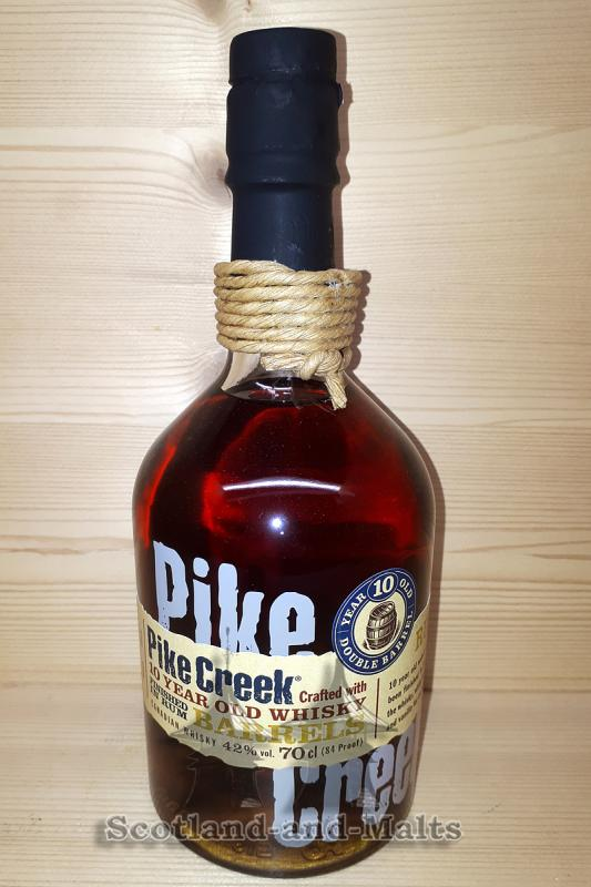 Pike Creek 10 Jahre Canadian Whisky Finished in Rum Barrels mit 42,0% - Whisky aus Kanada / Sample ab