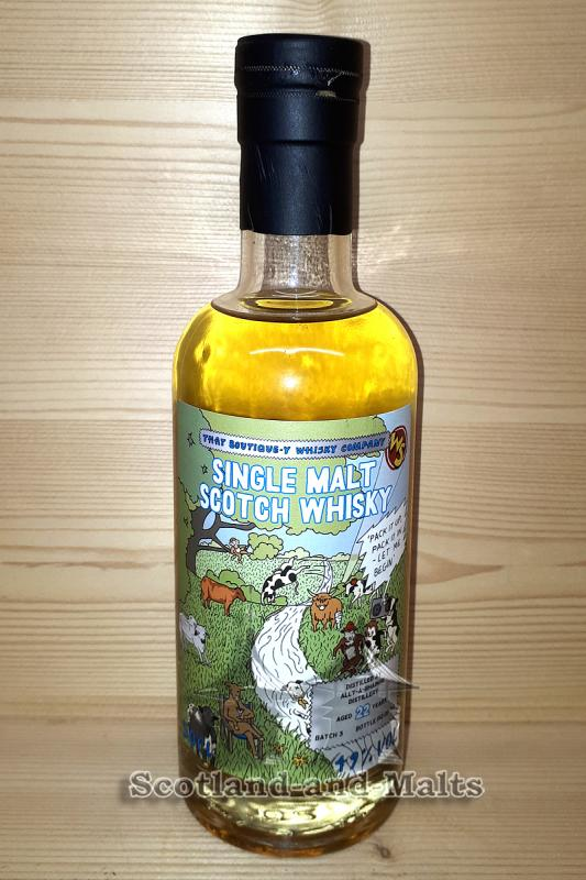 Allt-a-Bhainne 22 Jahre Batch 3 mit 49,0% That Boutique-y Whisky Company / Sample ab