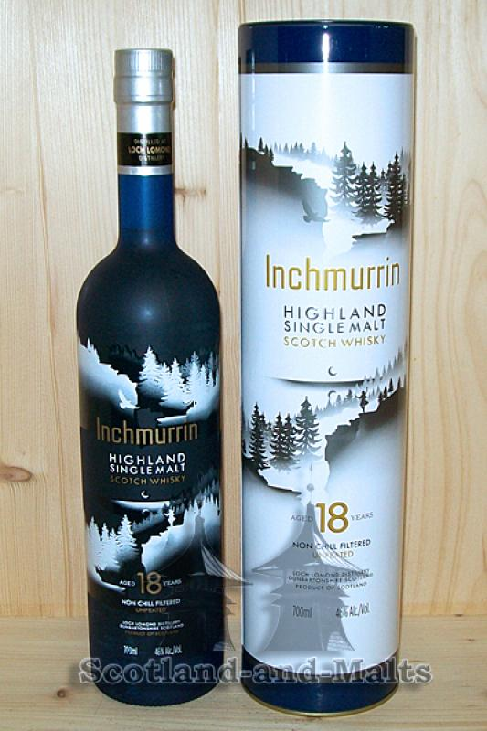 Inchmurrin 18 Jahre - unpeated single Malt Whisky