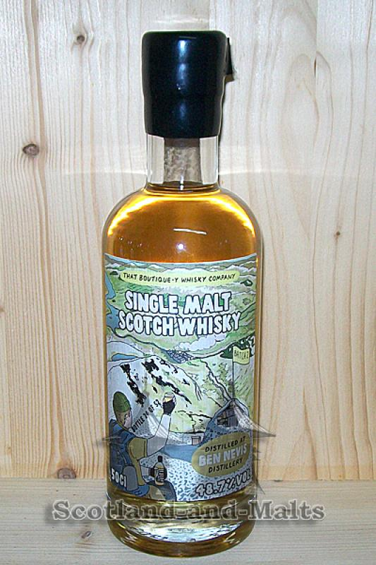 Ben Nevis Batch 2 - 48,7% That Boutique-y Whisky Company / Sample ab