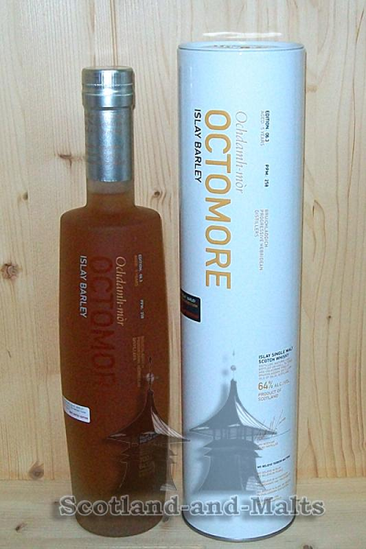 Octomore Edition 06.3 - 258 PPM - 64,0% vol / Sample ab