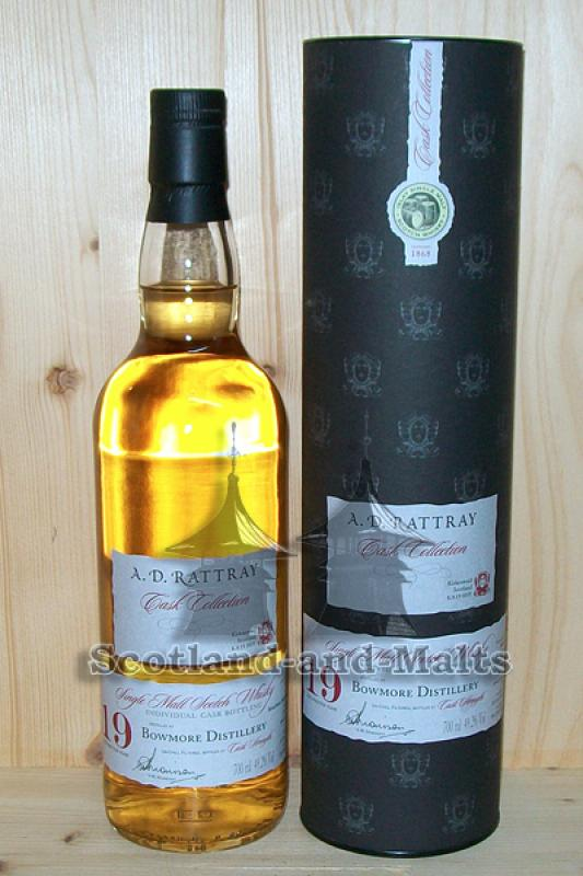 Bowmore 1996 - 19 Jahre Bourbon Cask No. 960059 mit 49,2% - A.D.Rattray / Sample ab