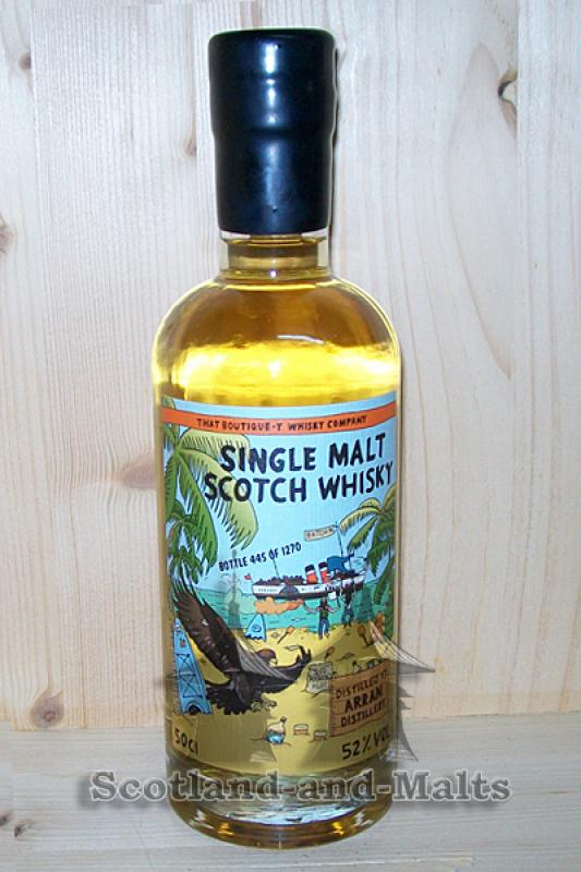 Arran Batch 4 - 52,0% That Boutique-y Whisky Company
