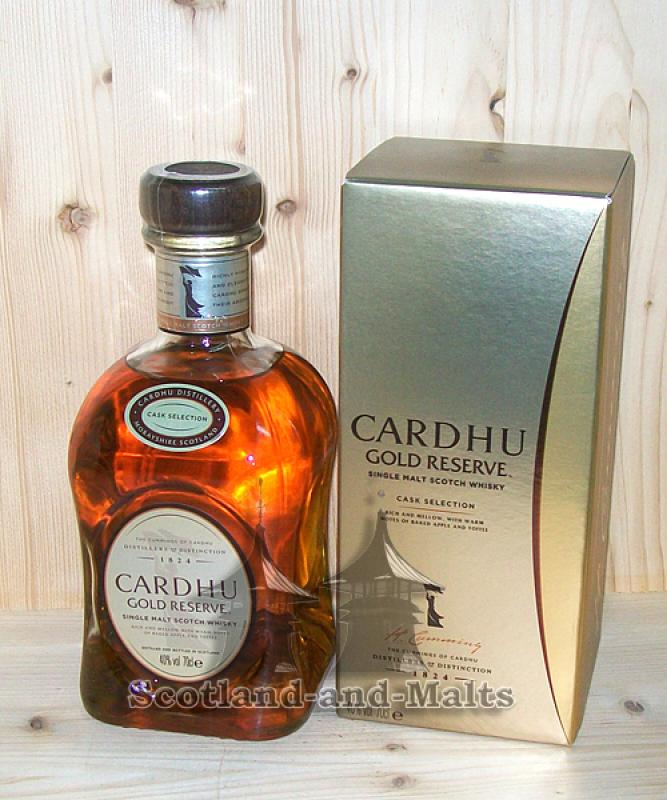 Cardhu Gold Reserve - single Malt scotch Whisky