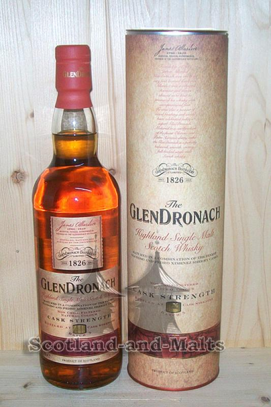 Glendronach Batch No: 5 - 55,3% Cask Strength