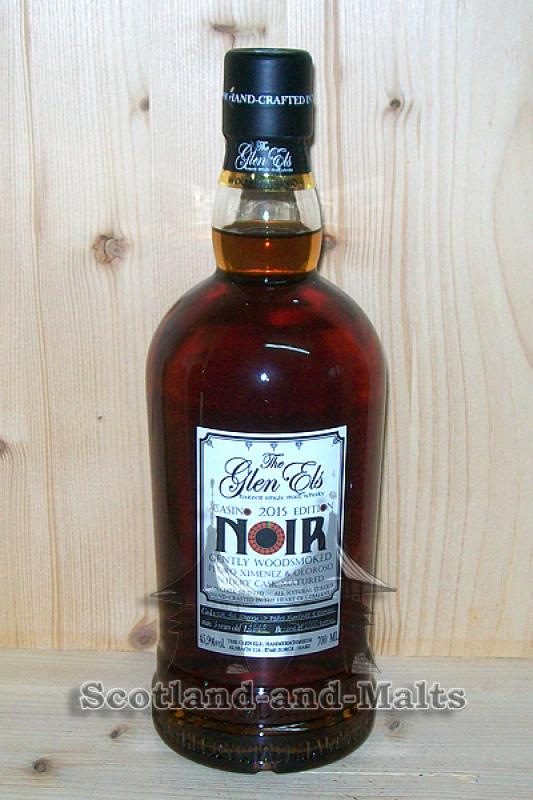 NOIR Casino Edition 2015 - 5 bis 7 Jahre Sherry Casks - Glen Els Gently Woodsmoked