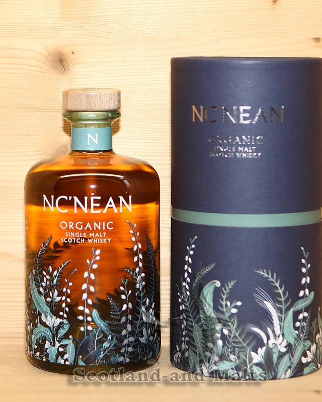 Nc'Nean Organic Single Malt Scotch Whisky Batch 03 mit 46,0% (DE-​ÖKO-006)