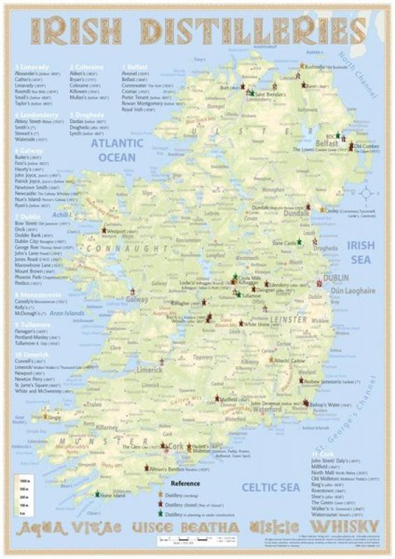 Schottland Karte Whisky.Edle Destillate Und Liköre über 1900 Verschieden Artikel Whisky